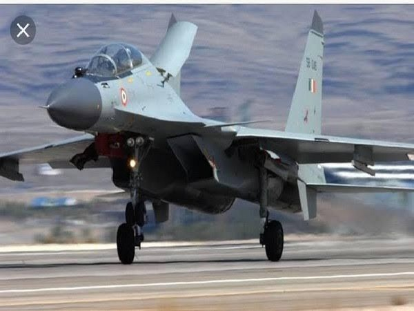 File picture of a Su-30MKI fighter