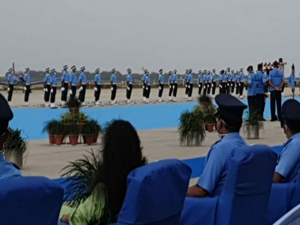 Combined Graduation Parade (CGP) held at Dundigal in Hyderabad on Saturday. Photo/ANI