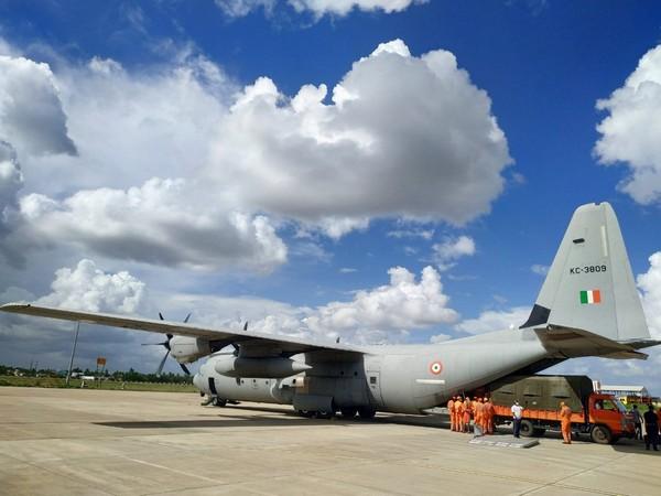 Visual of IAF deployed aircraft. (Photo/ANI)
