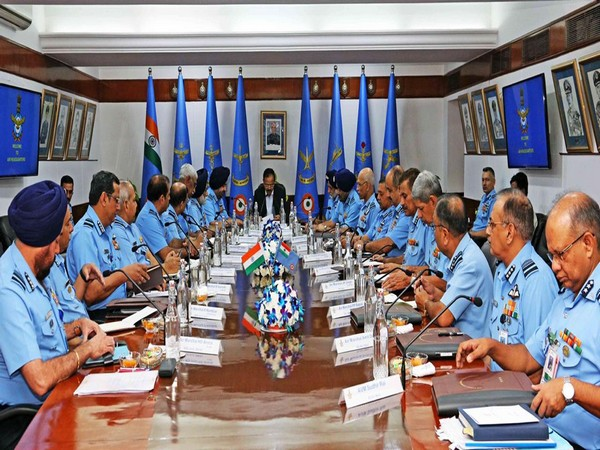 Top IAF commanders' meeting in Air Headquarters (file pic)