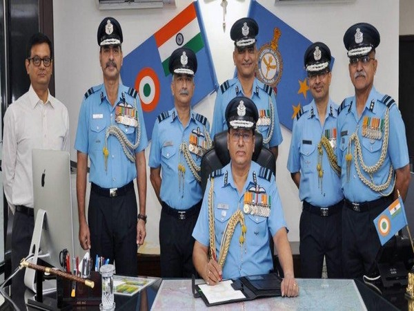 Air Marshal B Suresh took over as Western Air Command chief. (Photo/ANI)