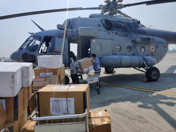 IAF has earmarked aircraft at nodal points to airlift medical supplies and equipment at short notice. Photo/ANI