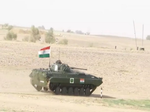 Army officials engaged in International Army Scout Masters competition in Jaisalmer. Photo/ANI