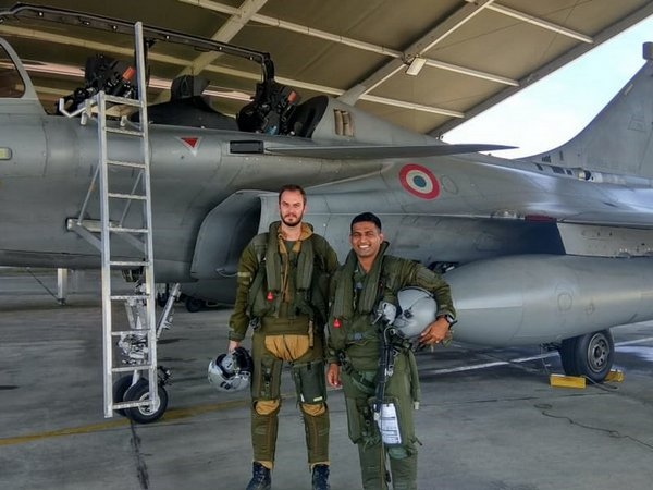 Visuals from Indo-France joint exercise. (Photo courtesy: Indian Air Force)