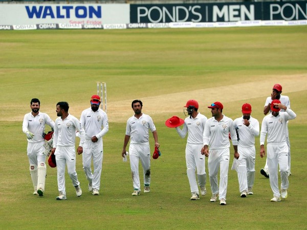 Bangladesh need 262 more runs to win the one-off Test against Afghanistan on day five. (Photo/ICC Twitter)