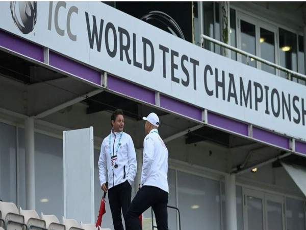 Richard Ellingworth is officiating in the WTC final (Photo/ ICC)