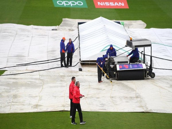 The Sri Lanka-Bangladesh match washed out in Bristol on Tuesday (Picture Credits: ICC)