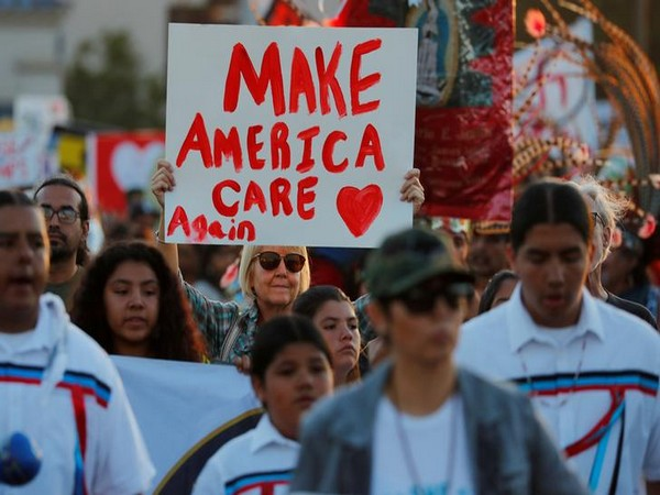Protests against US President Donald Trump's anti-immigrant policies in San Diego on July 12 (Photo/Reuters)