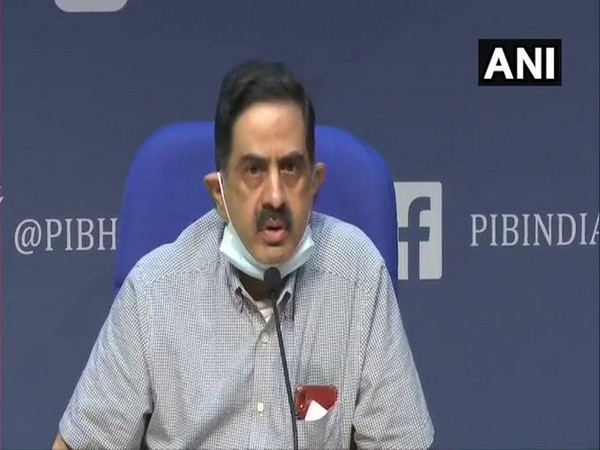 Dr Balram Bhargava, DG-ICMR at the daily press briefing in New Delhi on Tuesday.