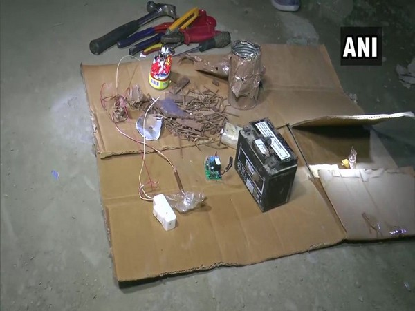 The suspected IED safely disarmed by the BDDS on Tuesday. (Photo/ANI)
