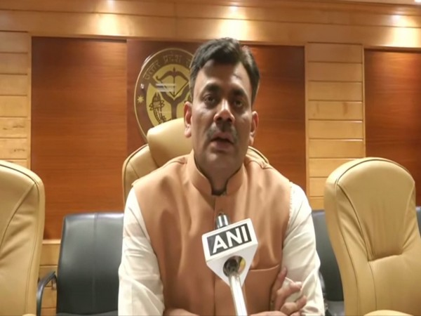 Inspector-General (law and order) Praveen Kumar talking to ANI in Lucknow on Thursday. Photo/ANI