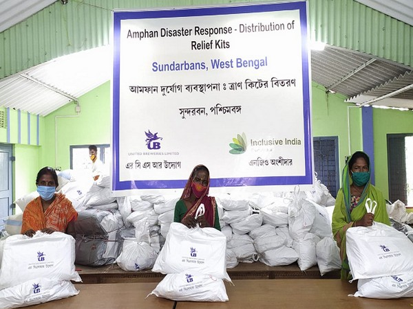 Relief Kit Distribution in Sunderbans