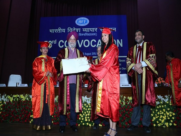 53rd Convocation of Indian Institute of Foreign Trade
