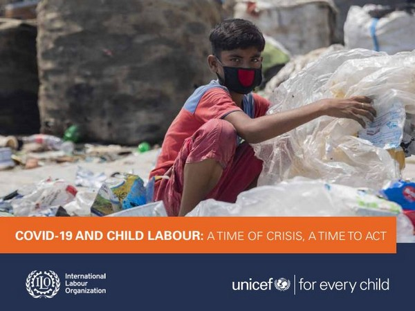 Child labour decreased by 94 million since 2000, but that gain is now at risk.