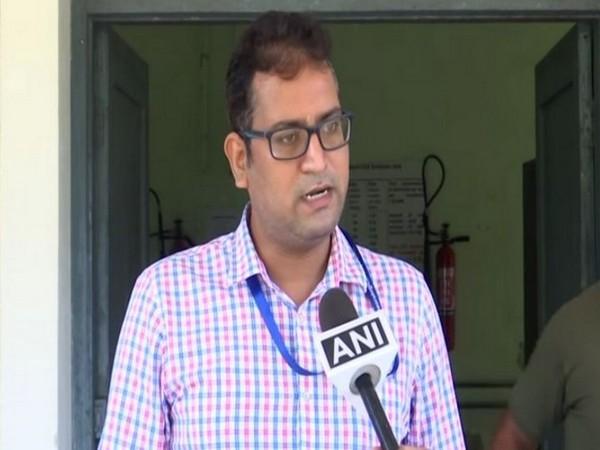 Scientist at IMD Bhubaneswar Dr Sanjeev Dwivedi (Photo/ANI)