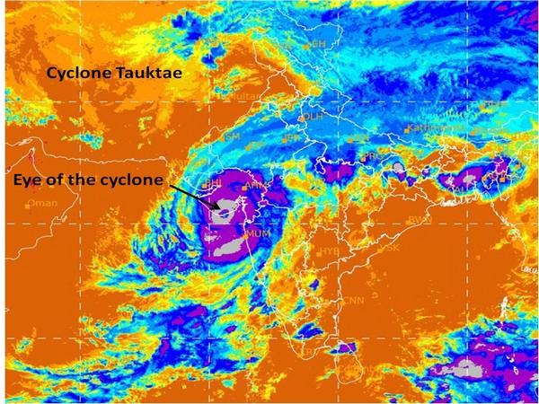 Visual representation of Cyclone Tauktae (Photo/IMD)