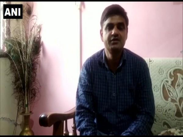 A visual of Surendra Paul, IMD Director, Chandigarh as he speaks to ANI (Photo/ANI)