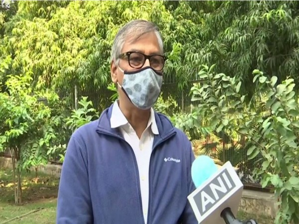 Dr VK Soni, Head, Environment and Research Centre of IMD speaking to ANI in New Delhi on Friday. (Photo/ANI)