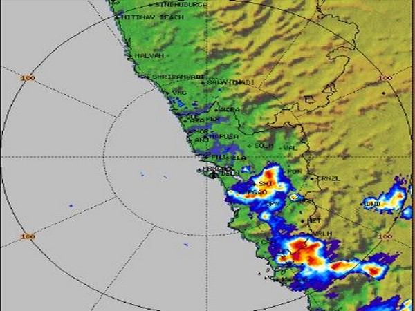 Visual of rains expected in parts of South India by IMD (Source: Twitter/IMD)