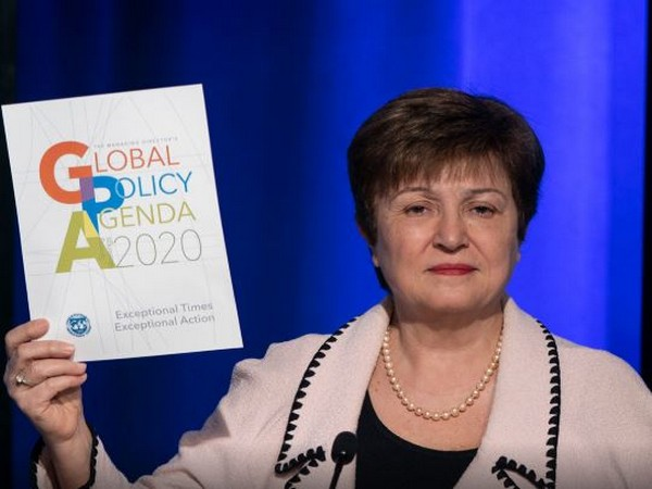 IMF Managing Director Kristalina Georgieva in Washington DC on Wednesday