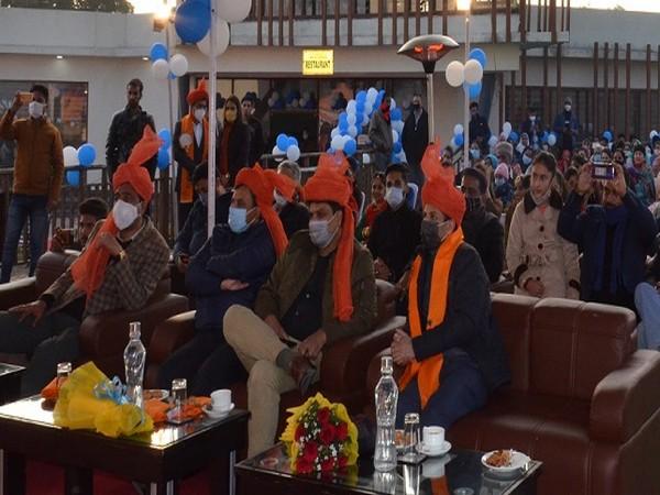 "A three day ""Jammu Gondola Festival"" started on Friday to showcase the Bagh-e-Bahu Gondola facility connecting Bagh-e-Bahu with Mahamaya and Peer Kho. (Photo/ANI)"