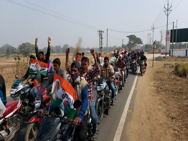 Visuals from the bike rally carried out by TMC in Birbhum
