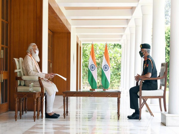 Chief of Army Staff General MM Naravane called on Prime Minister Narendra Modi on Thursday.