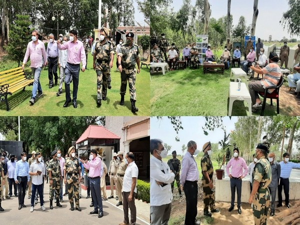 Jammu Divisional Commissioner tours Suchetgarh, Gharana Wetland circuit; directs tourism department to explore possibilities (Photo/ANI)