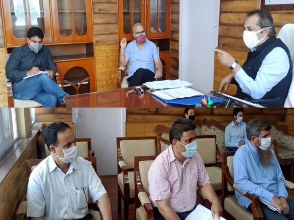 Meeting at Civil Secretariat