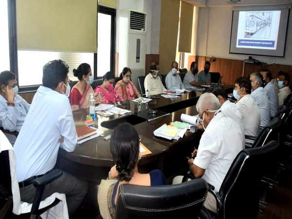 Review meeting for Metrolite Jammu city