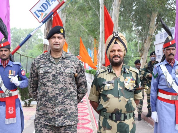 BSF-Pak Rangers hold first Sector Commander meeting. (Photo/ANI)