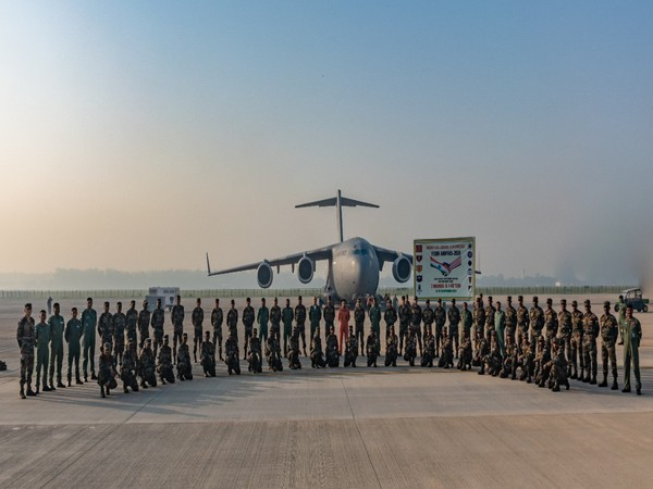 Indian Army contingent departing for joint Military Training Excercise