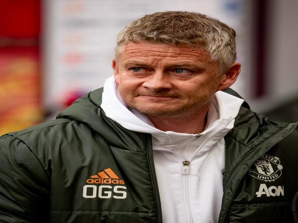 Manchester United coach Ole Gunnar Solskjaer (Photo/ Manchester United Twitter)