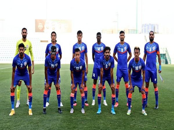 Indian football team. (Photo/ Indian Football Team twitter)