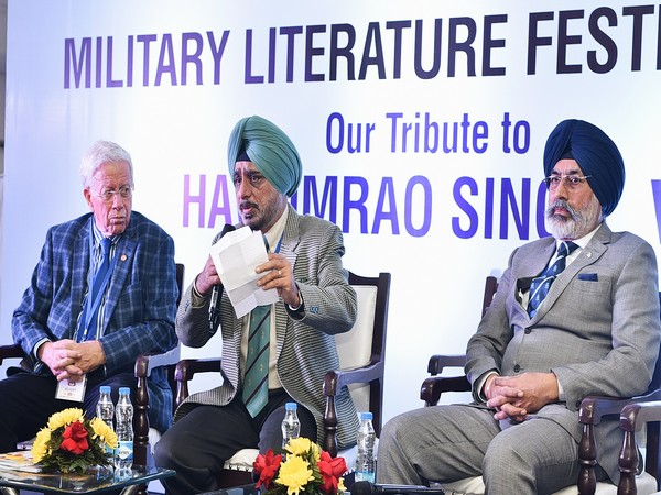 Experts during a discussion on 'Defending Against Formidable Odds: The Golan Heights, 1973' in Chandigarh on Sunday.