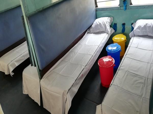 COVID-19 isolation coaches. Photo/ANI