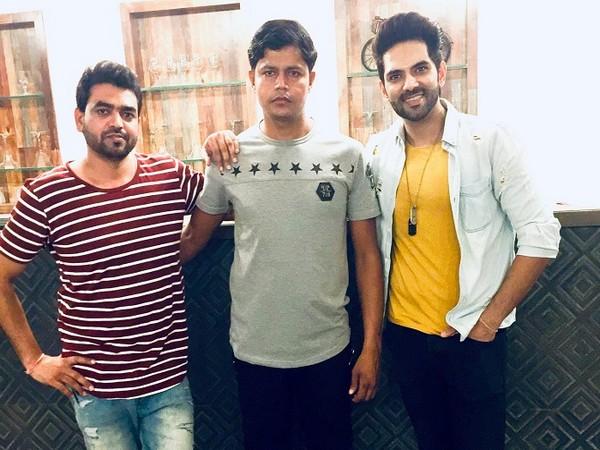 (L-R) Director Sanjeev Kumar Rajput, producer Kushal Chaudhary, actor Ankit Bathla
