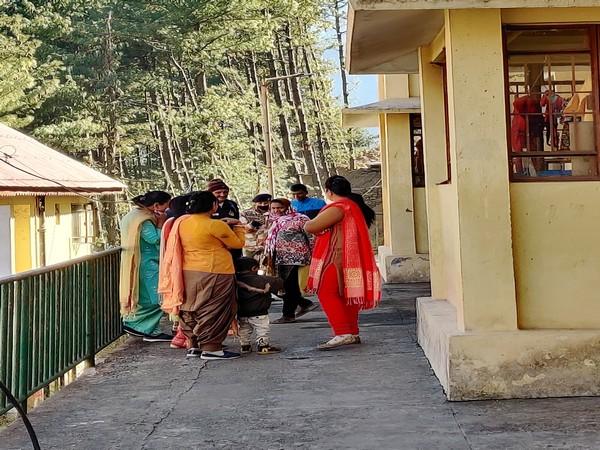 A small colony of Indo-Tibetan Border Police (ITBP) in Chamoli.