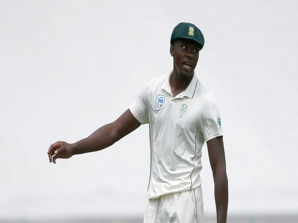Kagiso Rabada picked two wickets for South Africa. (Photo ICC Twitter)