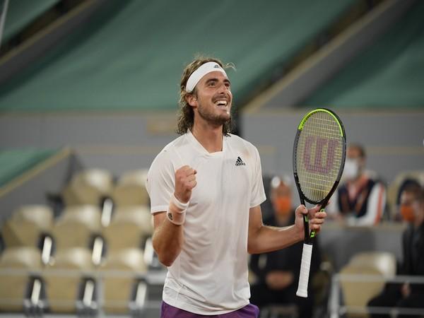 Stefano Tsitsipas. (Photo/ Roland-Garros twitter)