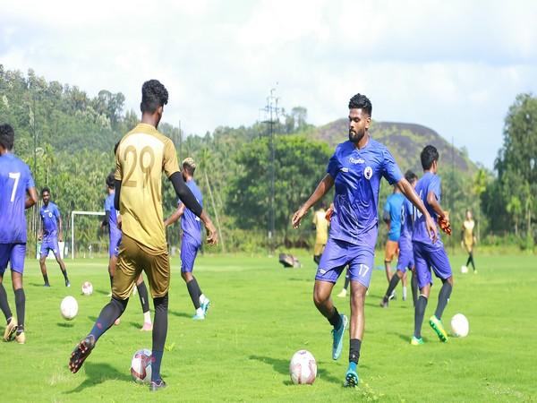 Players from Kerala United (Photo: I-League)