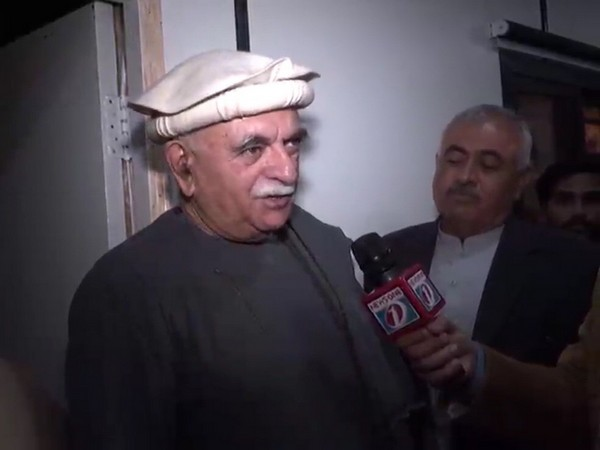 Chairman of Pakhtunkhwa Milli Awami Party Mahmood Khan Achakzai