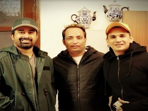 Youth icon and celebrity Rannvijay Singh, Sunny Verma, MD IMG Venture and Prince Narula
