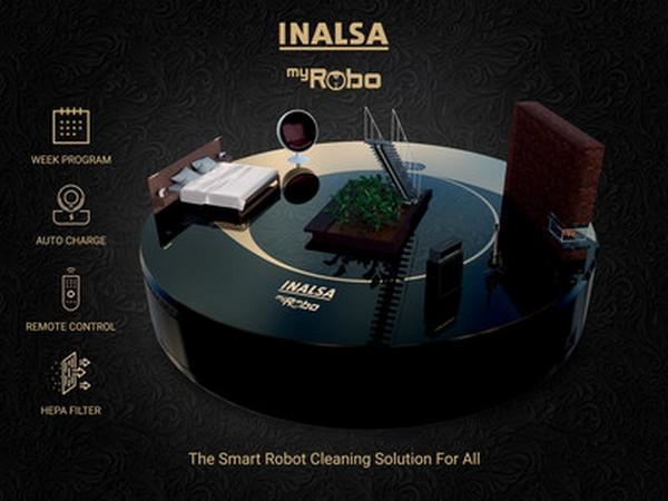 INALSA Robot Vacuum Cleaner