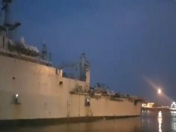 INS Jalashwa departs from Iran's Bandar Abbas port on Thursday