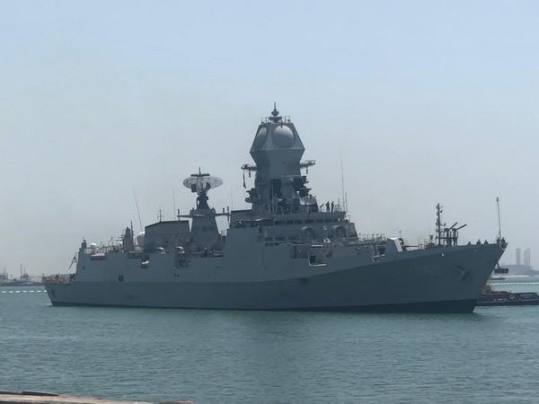 Visual of Operation Samudra Setu-II (Photo/Twitter)