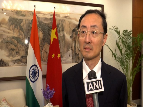Sun Weidong, the Chinese Ambassador to India speaking to ANI in New Delhi (Photo/ANI)