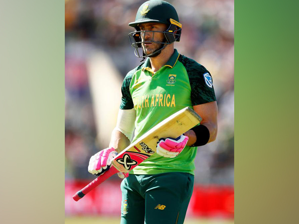 Former South Africa skipper Faf du Plessis