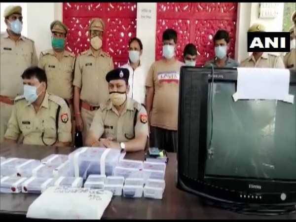Four people were arrested by Sambhal Police on Monday for their alleged involvement in betting on IPL matches.