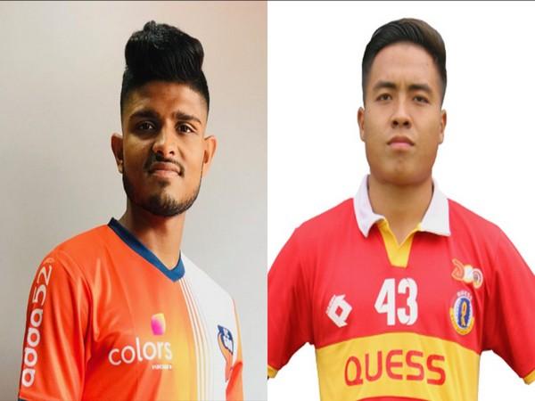 Amey Ranawade and midfielder PC Rohlupuia (Photo/ Mumbai City FC)